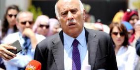 الرجوب: الدور المصري هام ومحوري لتحقيق المصالحة