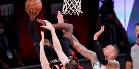 NBA: ميامي يفوز على بوسطن ويصل الى نهائي البطولة