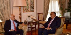 الرجوب يطلع وزير الخارجية المصري على الاتفاق بين فتح وحماس