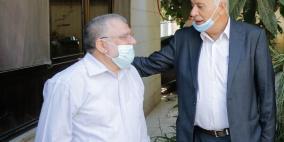 الرجوب يدين اعتقال الشيخ حسن يوسف