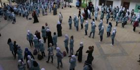 طولكرم: إغلاق مدرستين في مخيم نور شمس بسبب كورونا