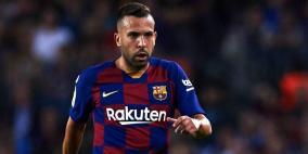 برشلونة يعلن إصابة ألبا وشكوك حول مشاركته بالكلاسيكو