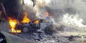 سورية: 14 قتيلا غالبيتهم مدنيون إثر انفجار سيارة مفخخة