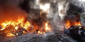 مقتل 4 أشخاص بانفجار خزان محروقات في بيروت