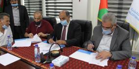 توقيع اتفاقية تشغيل بئر النويعمة للاستخدام الزراعي