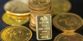 الذهب ينزل من أعلى مستوى في 3 أسابيع