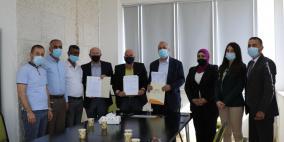 مختبرات مدلاب ومركز الهبة يوقعات إتقاقية عمل مع الهيئة العامة للتلفزيون