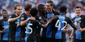 أربع إصابات بكورونا في بروج قبل مباراة بدوري الأبطال