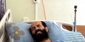 الاسير الاخرس يرفض نقله الى مستشفى المقاصد ويؤكد مواصلة إضرابه