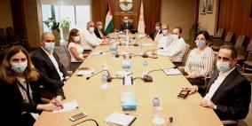 الشوا يستقبل وفداً من جمعية رجال الأعمال الفلسطينيين -القدس