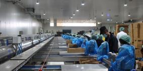 إفتتاح أكبر وأحدث مصنع لتعبئة التمور في فلسطين
