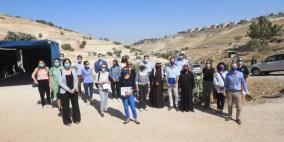 رؤساء بعثات دول الاتحاد الأوروبي يزورون التجمعات المهددة بالاستيطان حول القدس