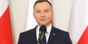 إصابة الرئيس البولندي بفيروس كورونا