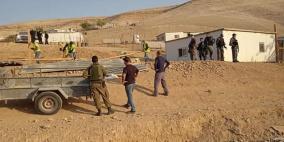 الاحتلال يهدم 3 مساكن في بادية القدس