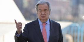 الأمين العام للأمم المتحدة يهنئ  بايدن