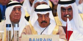 الرئيس يعزي بوفاة رئيس الوزراء البحريني