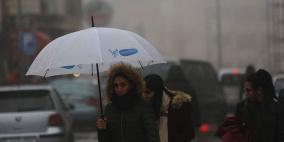 الطقس .. بدء تأثر فلسطين بمنخفض جوي والأرصاد تحذر