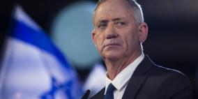 غانتس يهدد بالذهاب لانتخابات اذا لم يلتزم نتنياهو بالاتفاق