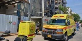 مصرع عامل إثر انهيار مبنى قيد البناء
