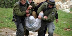 اعتقال 11 مواطنا من انحاء مختلفة بالضفة الغربية