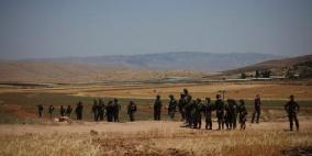 الاحتلال يبدأ بمسح نحو 35 ألف دونم في الأغوار