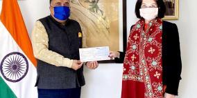 الحكومة الهندية تقدم 2 مليون دولار دعما للأونروا
