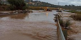 سيول وفيضانات في الداخل