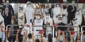 آلاف المشجعين يشهدون الإعلان عن جاهزية استاد أحمد بن علي المونديالي