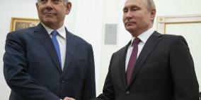اتصال هاتفي بين بوتين ونتنياهو.. هذا ما بحثاه