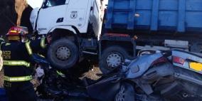 وفاة  شاب من النقب في حادث طرق