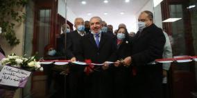 نابلس: اشتية يفتتح مستشفى الهلال الأحمر المخصص لعلاج كورونا