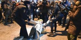 أكثر من ألف معتقل: مواجهات بين قوات الأمن والمحتجين في روسيا