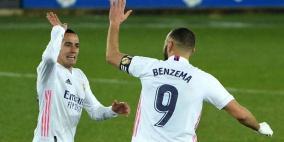 ريال مدريد يضرب ألافيس بالأربعة في غياب زيدان