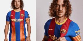 """بويول يقدم قميص برشلونة الخاص بـ """"الكلاسيكو"""""""