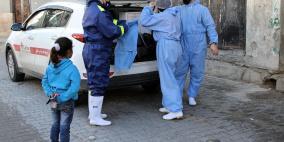 غزة: حالتا وفاة 264 إصابة جديدة بفيروس كورونا