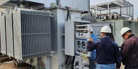 كهرباء القدس: تركيب محول جديد في محطة النبي صالح