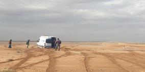 الأردن: وفاة شخص جرفته السيول خلال بحثه عن اشقائه