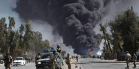 10 إصابات من الشرطة الأفغانية والمدنيين في انفجارين منفصلين