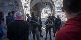 الاحتلال يشدد اجراءاته في محيط القدس القديمة والأقصى