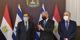 نتنياهو يستقبل وزير البترول المصري ويرسل تحياته إلى السيسي