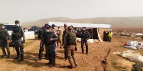صور .. الاحتلال يهدم خربة حمصة بالأغوار للمرة السادسة