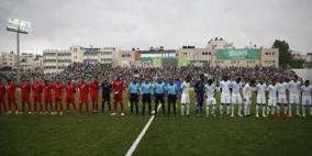 تقديم موعد مباراة فلسطين والسعودية إلى 30 آذار