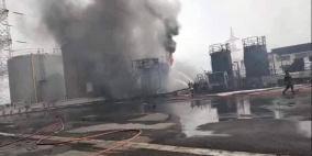 بالفيديو.. قتلى جراء انفجار صهريج في أحد المصانع بتونس