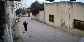 فيديو.. شرطة طولكرم تقبض على المشتبه به بطعن طليقته
