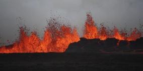 بالصور.. بركان يثور في أيسلندا بعد 900 عام من الخمود
