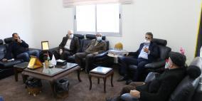 اتحاد المقاولين يجتمع مع وزارة المالية بغزة