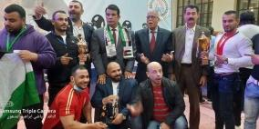 فلسطين تحرز المركز الثالث بالبطولة العربية للقوة البدنية بـ 16 ميدالية