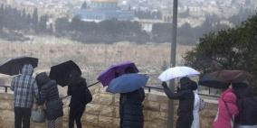 الطقس: أجواء باردة وأمطار فوق معظم المناطق