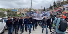 للأسبوع 11 .. مظاهرات في أم الفحم رفضا للجريمة وتواطؤ الاحتلال