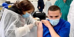 احصائيات حملة التطعيم ضد كورونا في فلسطين حتى اليوم